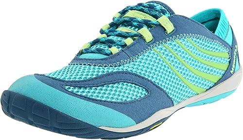 Merrell Pace Glove, Zapatillas de Deporte Exterior para Mujer, Mehrfarbig (Caribbean Sea), 36 EU: Amazon.es: Zapatos y complementos