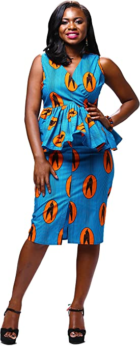 National Costume Suit for African Women