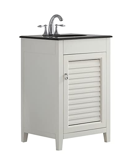 Simpli Home Axcvlvw 20 Adele 20 Inch Bath Vanity In Soft White With