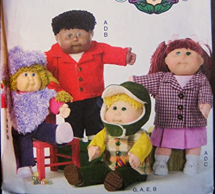 Amazon Butterick 5158 Sewing Pattern Cabbage Patch Kids Design