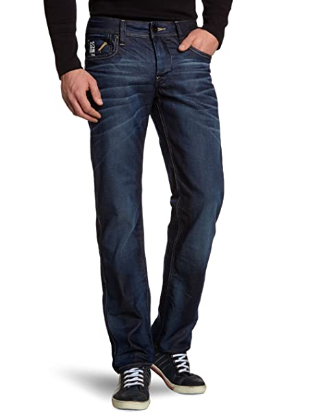 G Star Men's Attacc Straight Leg Jean with Half Concealed