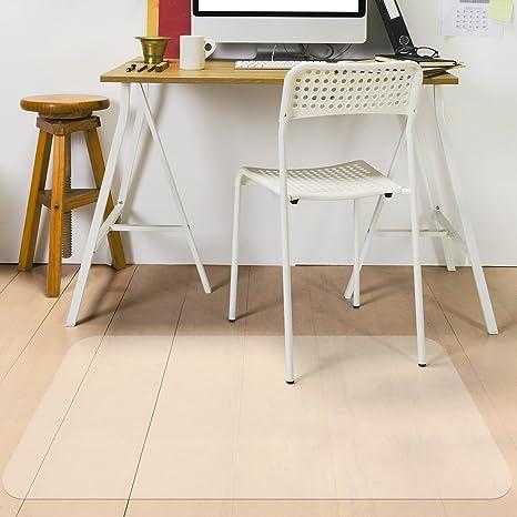 Bodenschutzmatte Bodenschutz Matte Bürostuhlunterlage Bodenmatte PVC Transparent