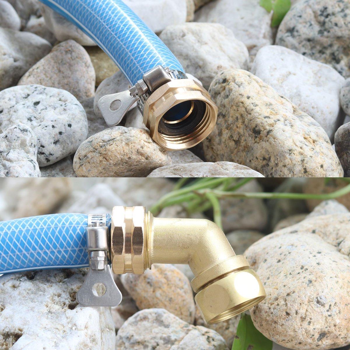 Garden Hose Elbow Connector 45 Degree Hose Extender Solid