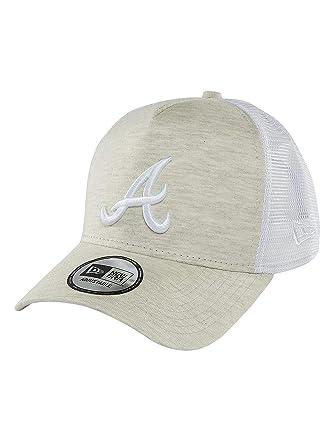 new style a777c 30a00 New Era Men Caps Trucker Cap Essential Jersey Atlanta Braves Beige  Adjustable  Amazon.co.uk  Clothing