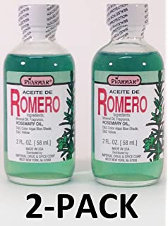 Aceite De Romero 2 Oz. Rosemary Oil 2-PACK Pharmark