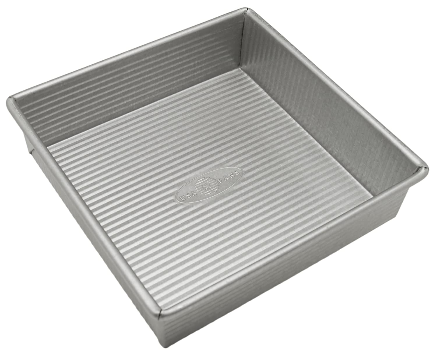 Non Stick 8x8 baking pan featured by top US food blog, Practically Homemade