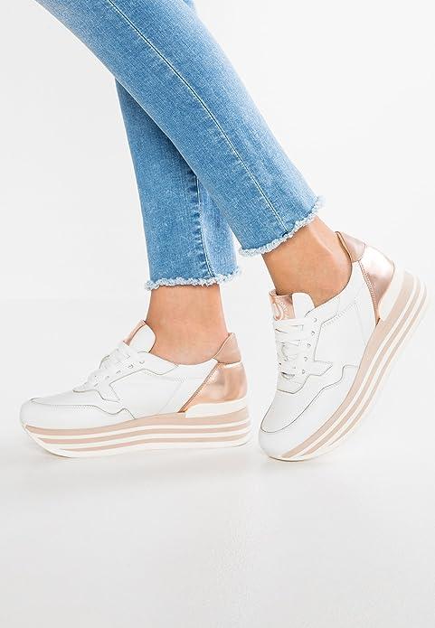 Janet Sport Damen Sneaker 37856 weiß Sneaker Slip On Strass