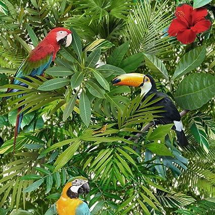 Muriva 102555 12 rollos de papel pintado de la selva Tropical