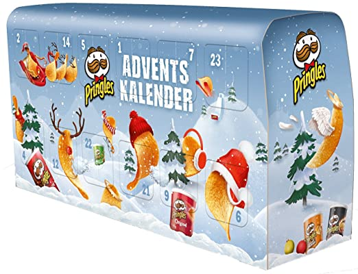 Chip De Weihnachtskalender.Pringles Bus Adventskalender 1er Pack 1 X 1 1 Kg