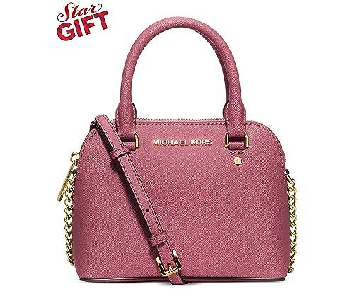 283e89a681d8dd MICHAEL Michael Kors Womens Cindy Mini Crossbody (Tulip): Handbags:  Amazon.com