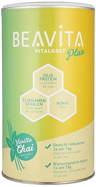 BEAVITA Vitalkost Plus Sabor Vainilla Chai | 572g (10 porciones) | 207 kcal |