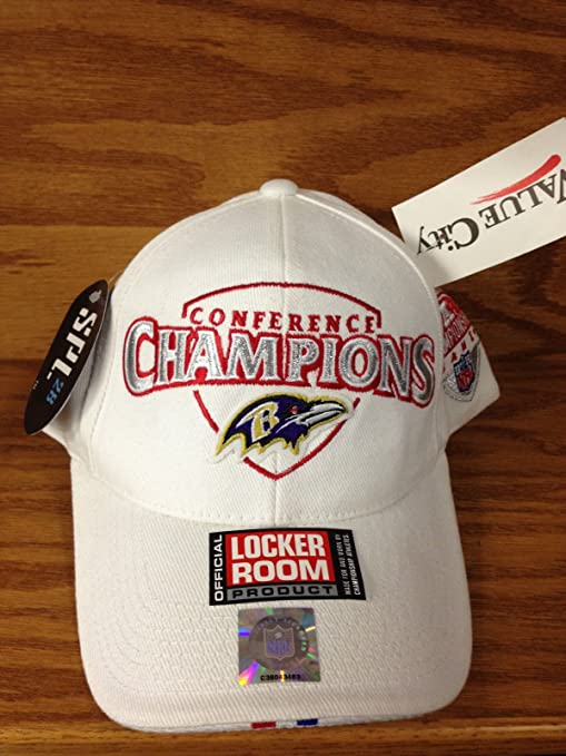 dd7a16e34 Image Unavailable. Image not available for. Color  Rare BALTIMORE RAVENS  AFC Conference Champions Super Bowl XXXV quot  Hat with Tags