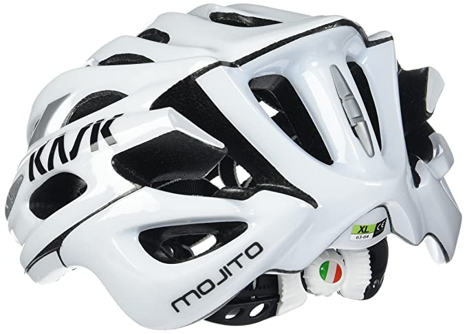 Kask - Mojito 16 - Casco para bicicleta, Adultos , Blanco, L (59-62 cm): Amazon.es: Deportes y aire libre