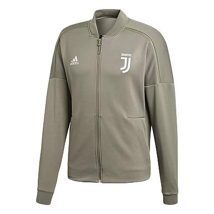 6103b1804710d Amazon.com : adidas Juventus Anthem Grey Jacket 2018-2019 : Sports ...