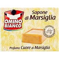 Omino Bianco – Jabón de Marsella, aroma a almizcle blanco – 250 g, Perfumes Varios