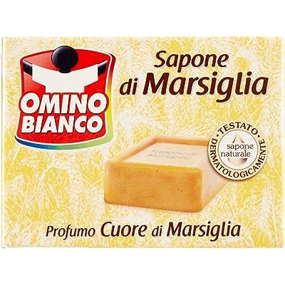Omino Bianco–Jabón de Marsella, aroma a almizcle blanco–250g, Perfumes Varios