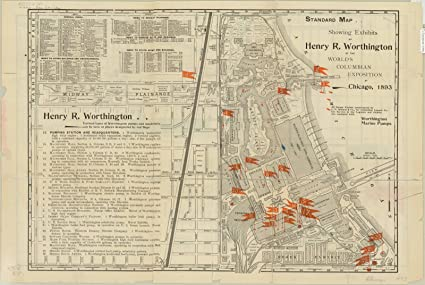 Amazon.com: Historic Map | Chicago World's Fair 1893 | Handy ... on italy on world map, bangkok on world map, dead sea on world map, amazon river on world map, washington dc on world map, vienna on world map, 1893 chicago world's fair map, cape town world map, chicago on north america map, new york city on world map, moscow on world map, istanbul on world map, england on world map, chicago on the water, london on world map, madrid world map, chicago on state map, chicago on usa map, chicago on map of world, hawaii on world map,