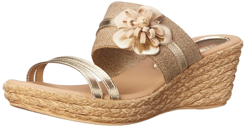 Azura by Spring Step Women's Aketi Wedge Sandal B00PBU4FBY 41 EU/9.5-10 M US Soft Gold