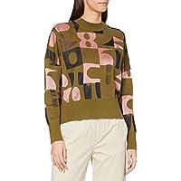 Scotch & Soda Oversize-Sweatshirt Mit Jacquard-Muster Sudadera. para Mujer