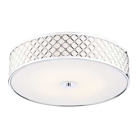 competitive price e1473 73487 Dar Civic 2 Light Flush Ceiling Light