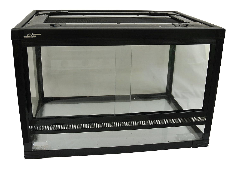 Lucky Reptile HT-33 Herp-Tarrium Glasterrarium mit Kunststoffrahmen ...