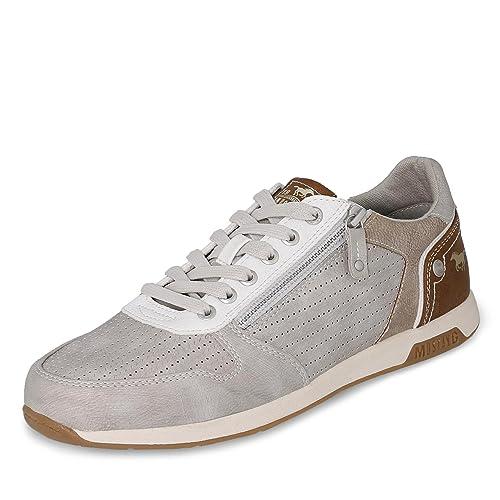 Mustang - Zapatillas de casa Hombre , color gris, talla 43: Amazon.es: Zapatos y complementos