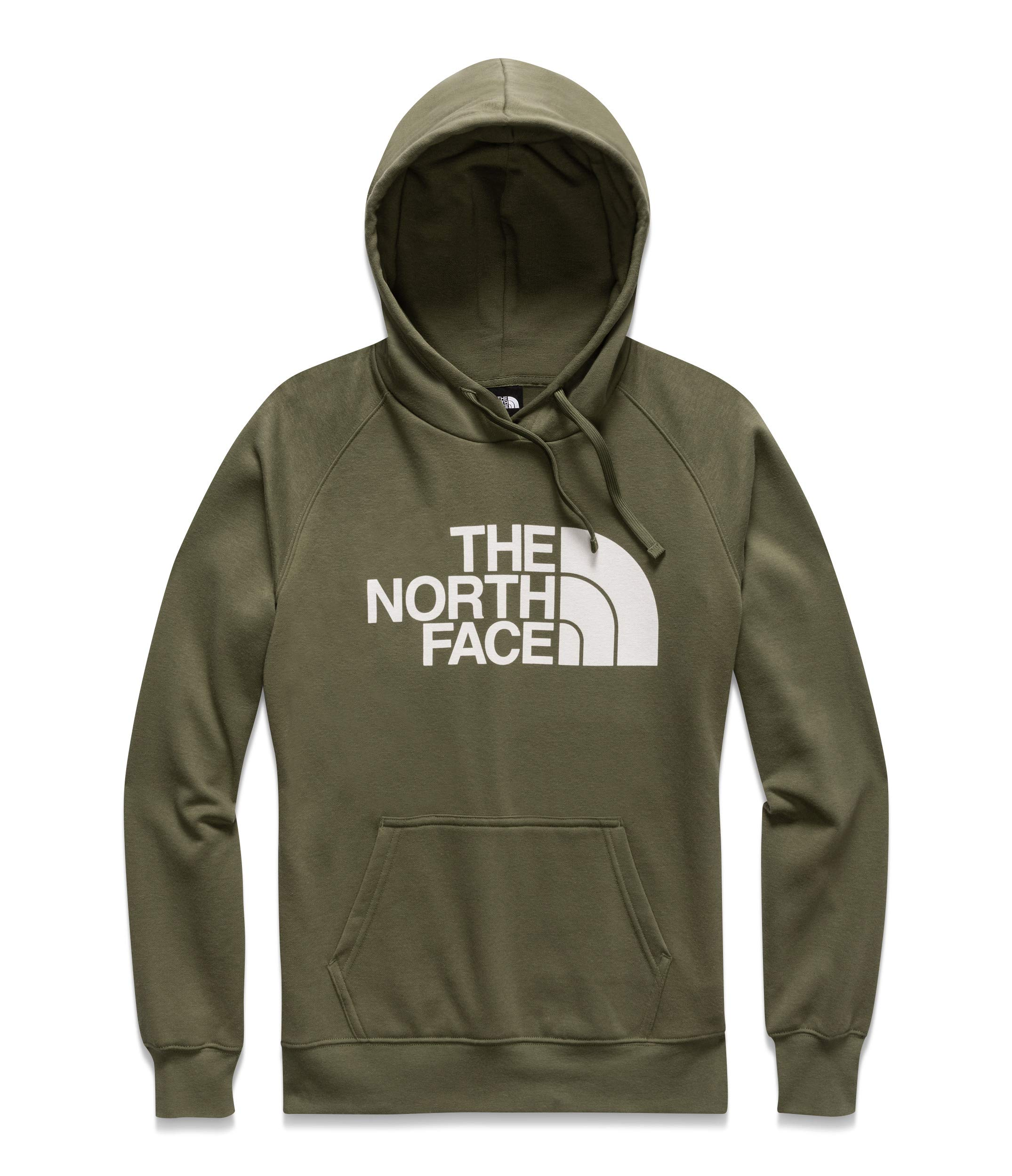 The North Face Half Dome Pullover Hoodie - Women's Four Leaf Clover/TNF White X-Small by The North Face