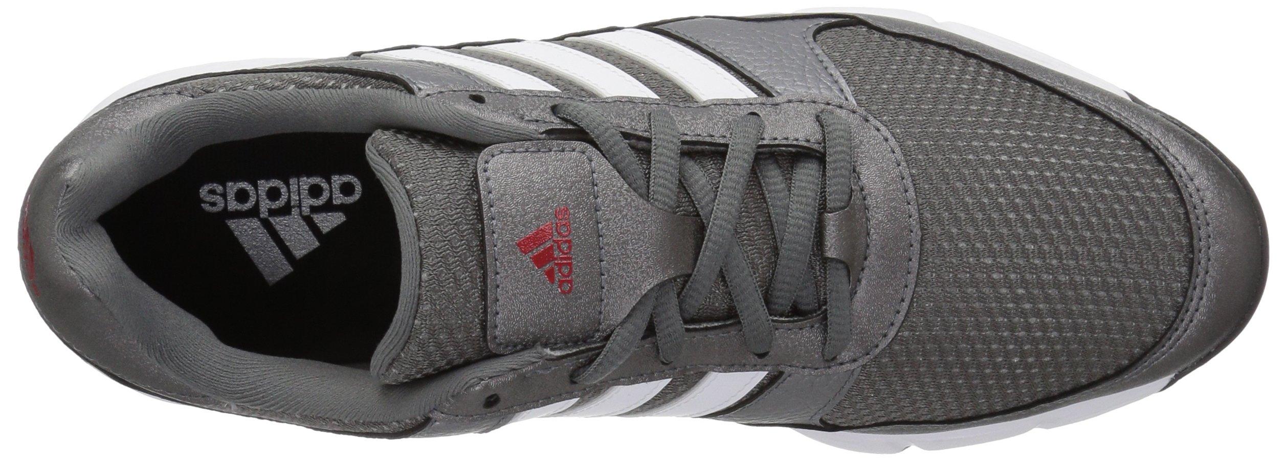 adidas Men's Tech Response Golf Shoe, Iron Metallic/White, 8.5 W US by adidas (Image #8)