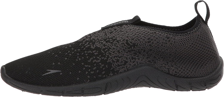 Black//Dark Gull Grey 12 Speedo Unisex Surf Knit Water Shoes