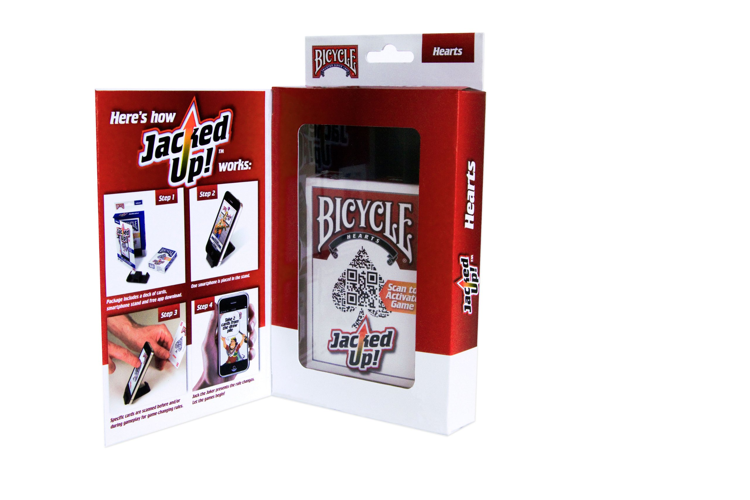 Bicycle Jacked Up! Hearts Playing Cards