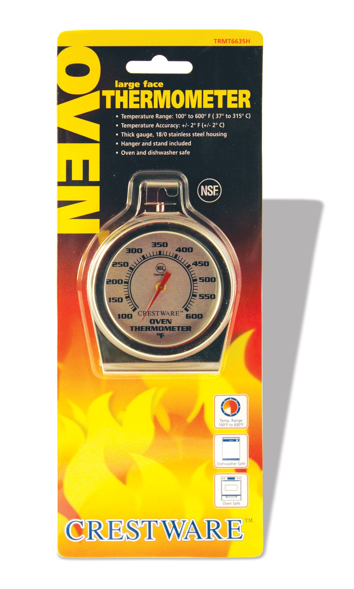 Crestware Oven Thermometer Large Face