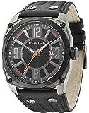 Police - 13405JSUB/02A - Montre Homme - Quartz - Analogique - Bracelet Cuir Noir