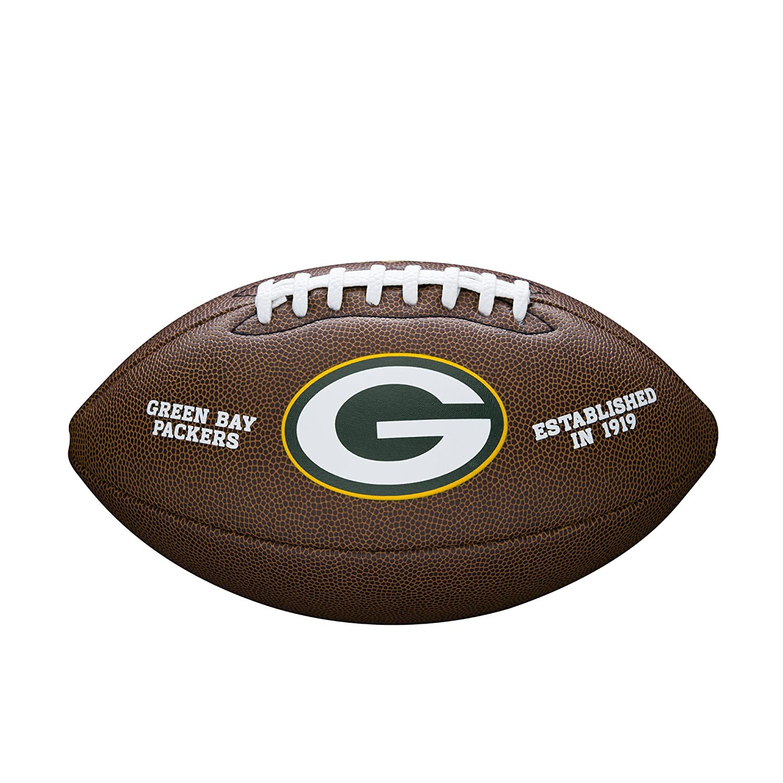 Wilson Green Bay Packers - Balón de fútbol Oficial WTF1748 GB 3739305