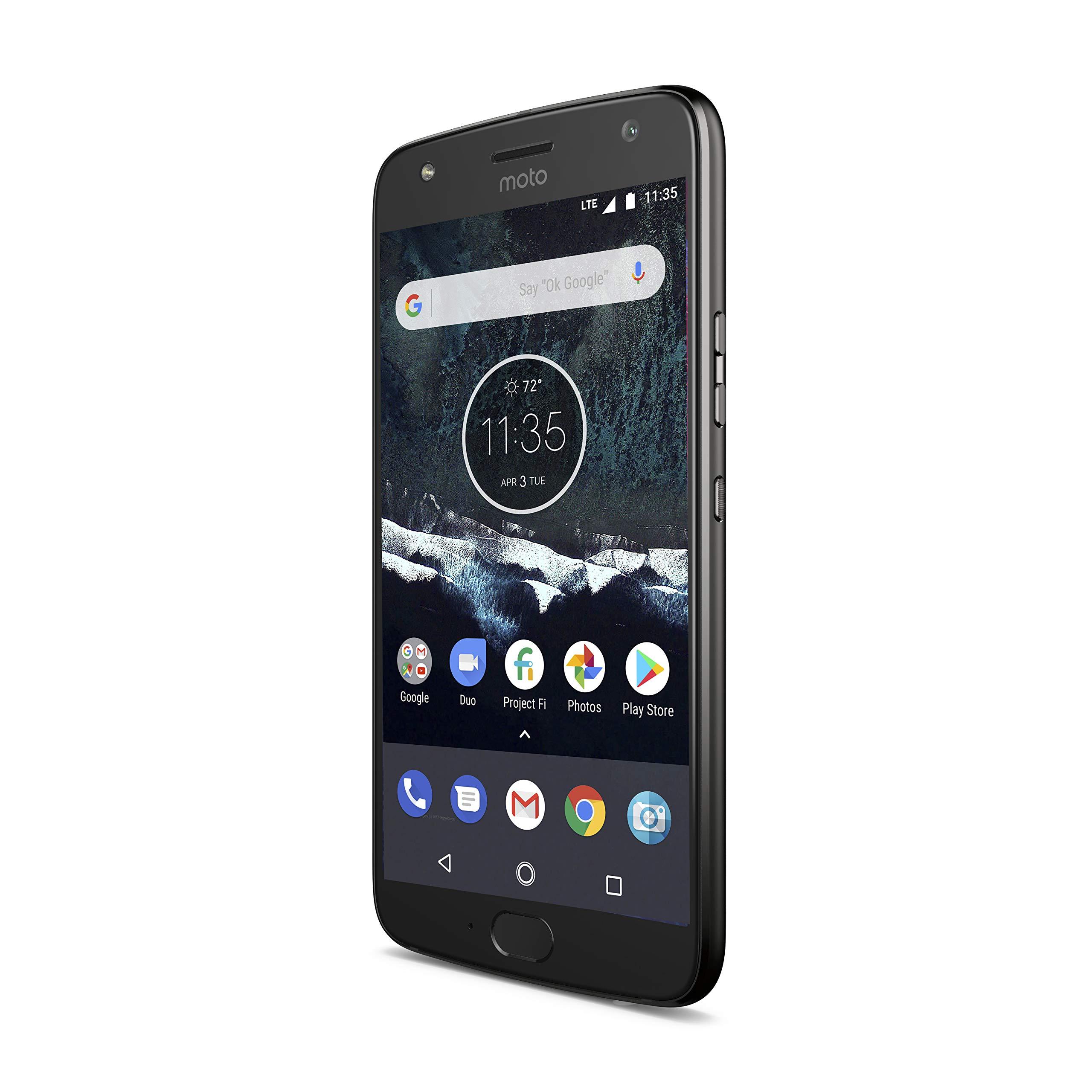 Moto X4 Android One Edition - 64GB - Black - Unlocked by Motorola (Image #3)