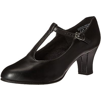 Capezio Women's Jr. Footlight T-Strap Dance Shoe   Ballet & Dance
