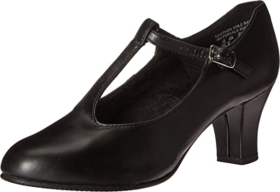 T-strap style dance shoe