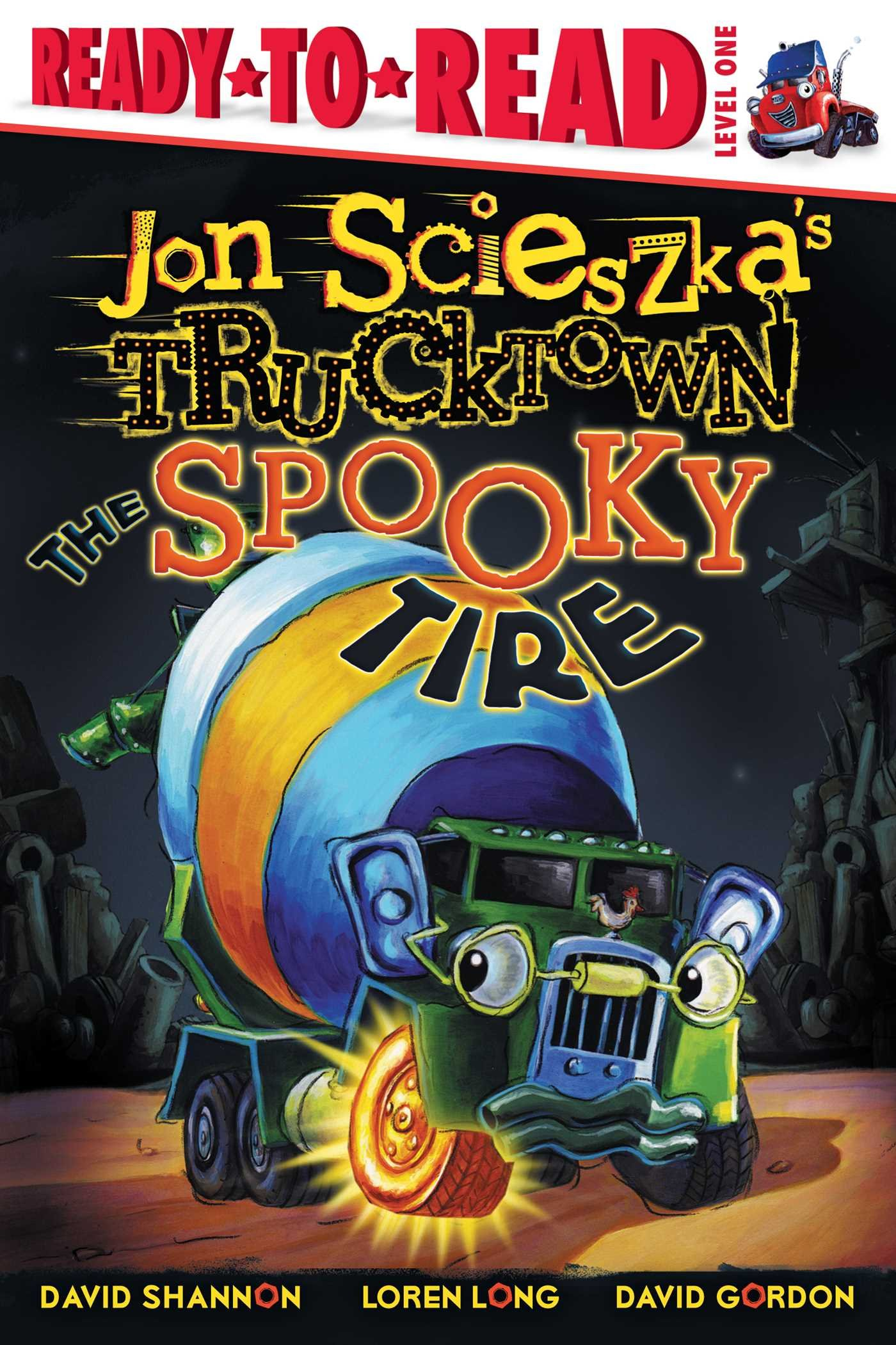 The Spooky Tire (Jon Scieszka's Trucktown) pdf