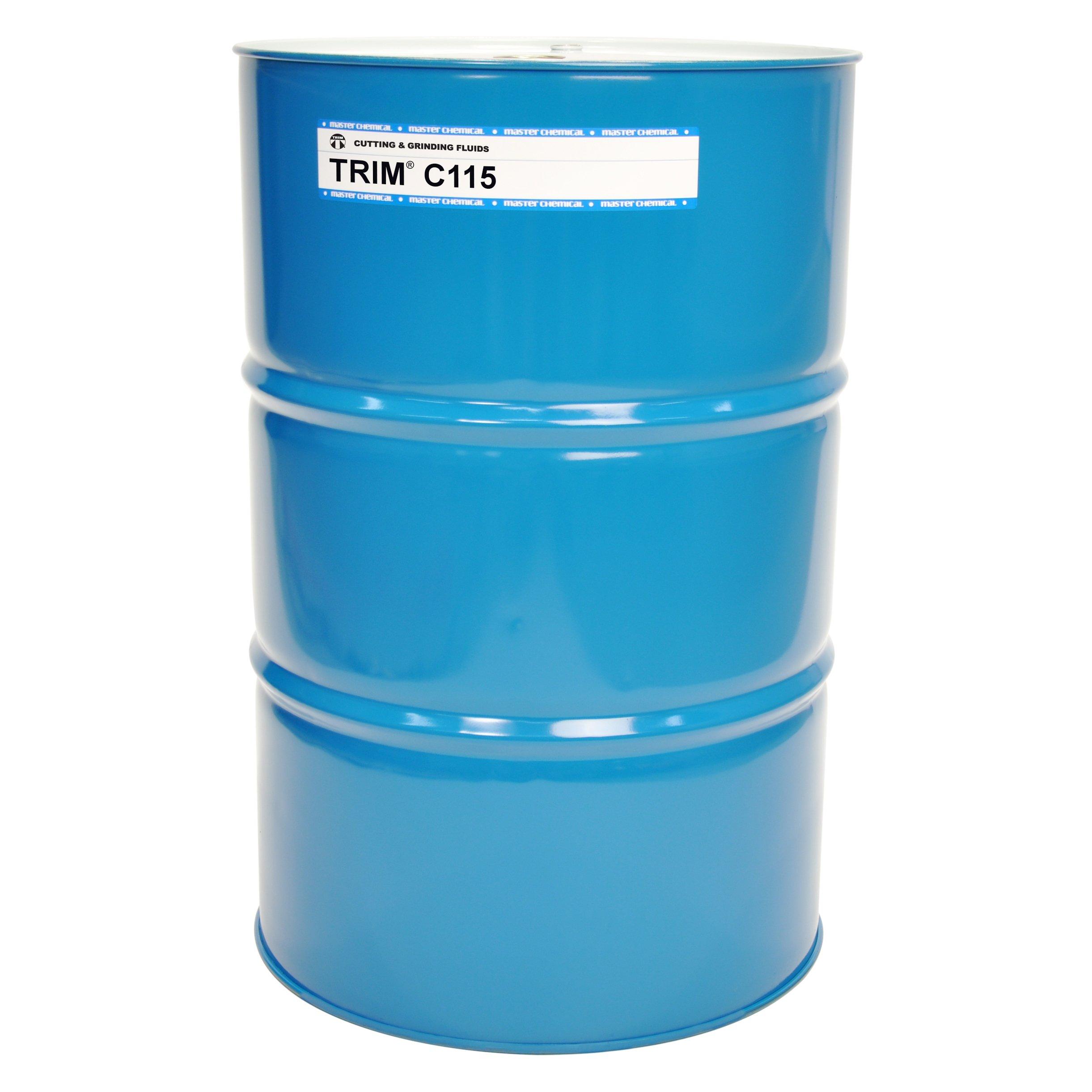 TRIM CUTTING & GRINDING FLUIDS C115/54 C115, Synthetic, 54 gal Drum