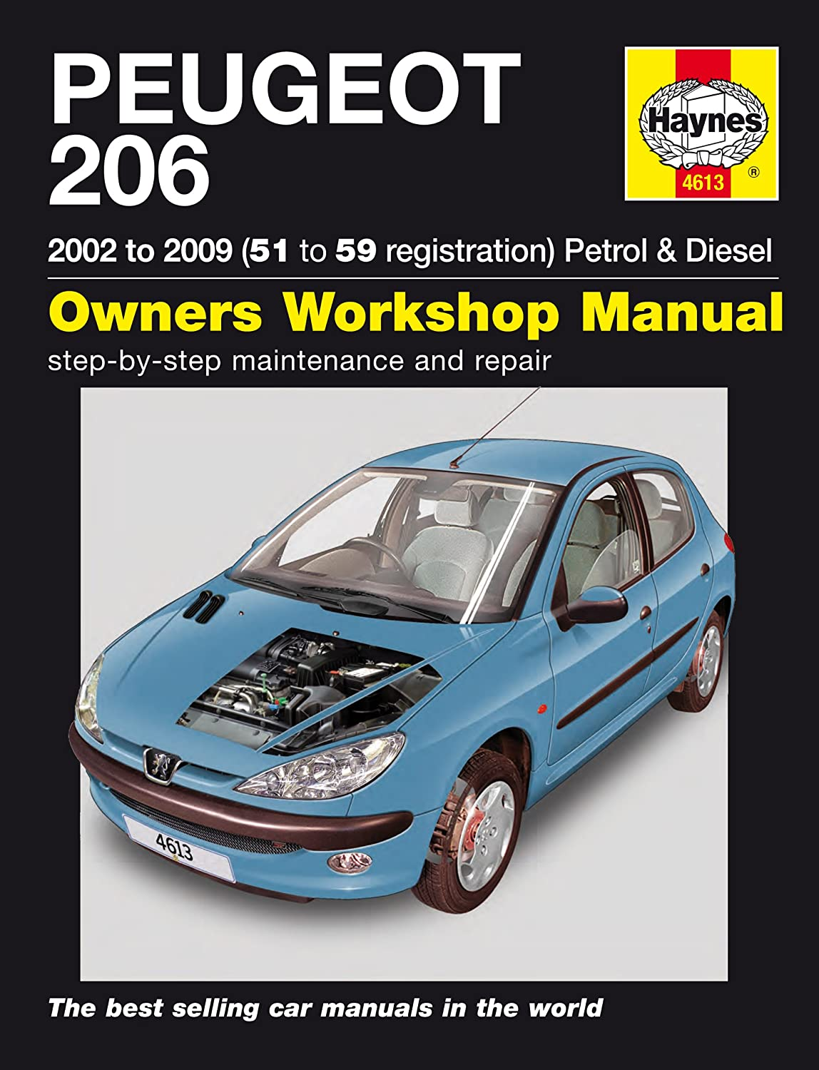 Peugeot 206 Repair Manual Haynes Manual Service Manual Workshop Manual  2002-2006: Amazon.co.uk: Car & Motorbike