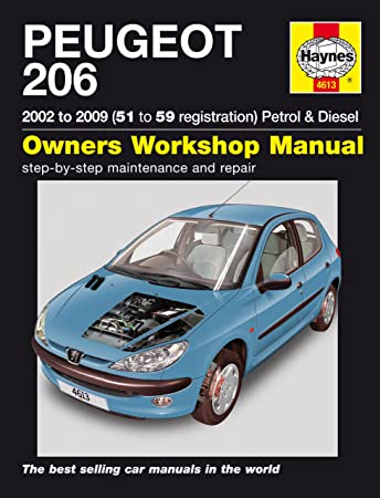peugeot 206 repair manual haynes manual service manual workshop rh amazon co uk Peugeot 206 2.0L Ew10j4s14 Petrol Peugeot 206 1.4 Tune Up