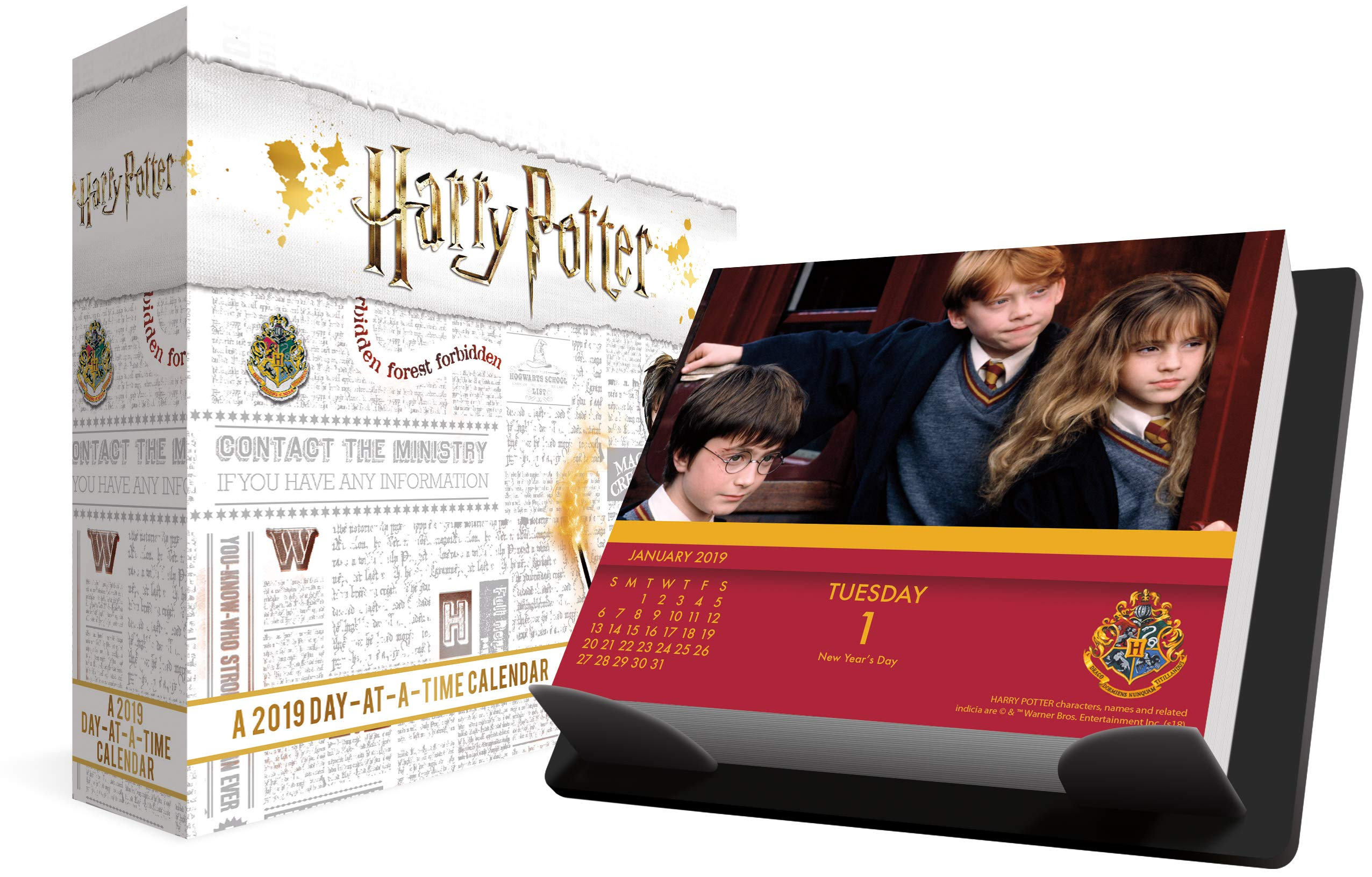 2019 Harry Potter Day At A Time Calendar Trends International