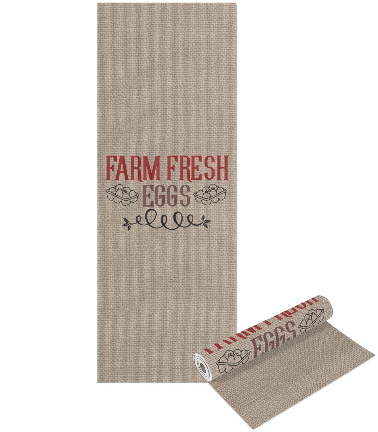 Amazon.com : RNK Shops Farm Quotes Yoga Mat - Printable Front and Back (Personalized) : Sports & Outdoors