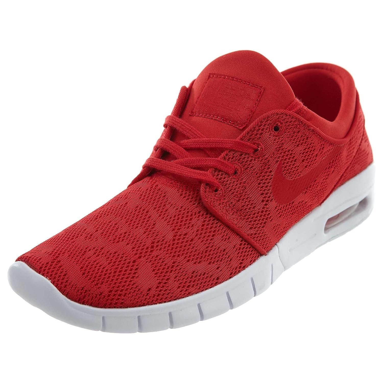 Nike Stefan Janoski Max Unisex-Erwachsene Sneakers  10|Rot