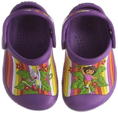 dfddd14b2ec270 Crocs Dora Multistripe Custom Clog