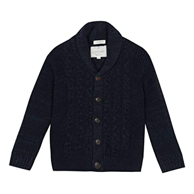 a1104c4f4a14 J by Jasper Conran Kids Boys  Navy Cable Knit Cardigan  J by Jasper ...