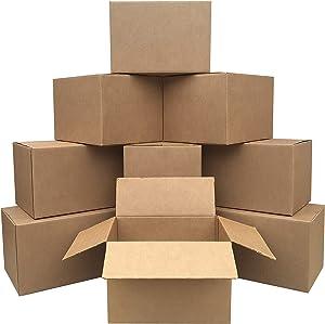 """AmazonBasics Moving Boxes - Medium, 18"""" x 14"""" x 12"""", 10-Pack"""