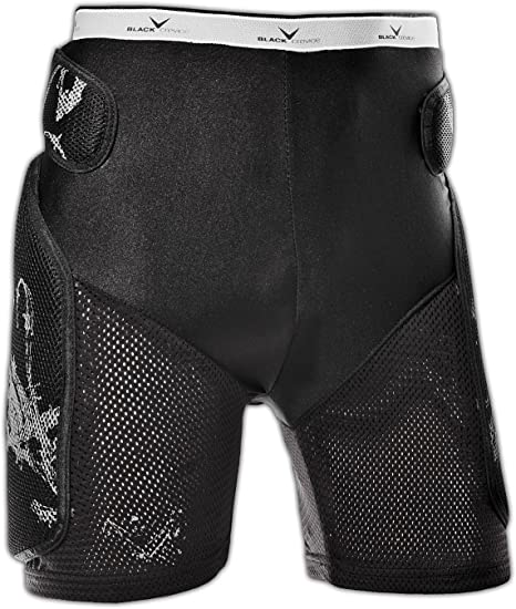 Black Crevice Womens Protector Shorts