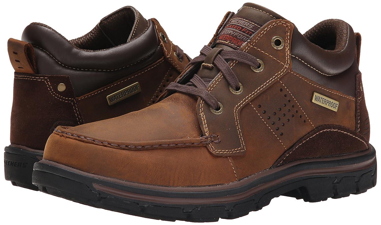 Skechers Segmento - MELEGO, Men Botines, marrón - Braun (Cdb), 39.5 EU: Amazon.es: Zapatos y complementos