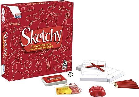 Falomir Sketchy. Juego de Mesa. Family & Friends. (26548): Amazon.es: Juguetes y juegos