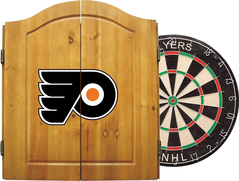Imperial公式ライセンスNHL Dart Cabinetセットwith Steel Tip Bristle Dartboard andダーツ。 B00HQQBFEG Philadelphia Flyers Philadelphia Flyers
